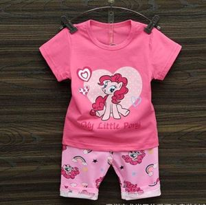 @  HAPPYKIDS  KIDS SET ( PINK PONY ) SIZE 55 - 80
