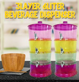 3Layer 6Liter Beverage Dispenser