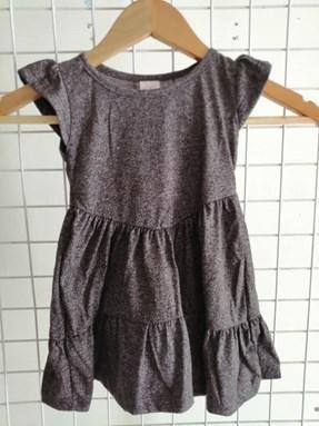 Princess Dress V2 : JEANS GREY size  2-4