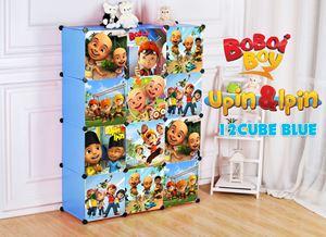 Boboboi/Upin&Ipin 12C Blue DIY Wardrobe (BB12B)