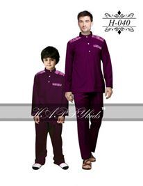 HAPPYkids 2017 Songket Exclusive MAN ( RED BERRY )  -