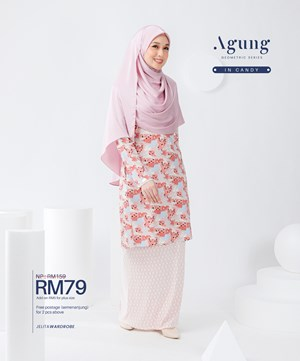 NEW LOOK AGUNG GEOMETRIC SERIES IN CANDY