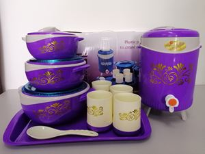 HOTPOT PICNIC SET - PURPLE