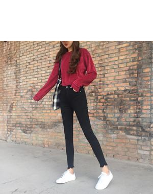 Hee Young Korean Skinny Jeans