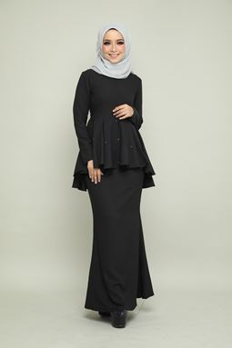 BELLA KURUNG - BLACK