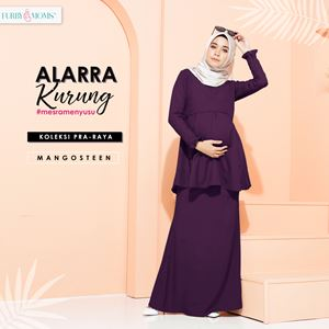 Alarra Kurung - Dark Purple (Pre Order : 3nd Batch)