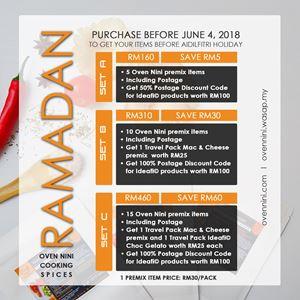 RAMADAN 2018 PROMO