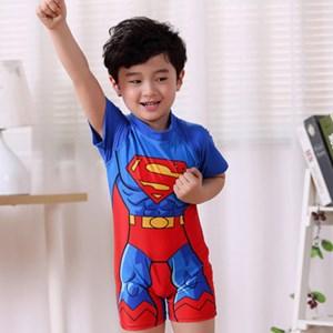 KIDS SWIMMING SUIT - SUPERMAN ( SIZE M-2XL )