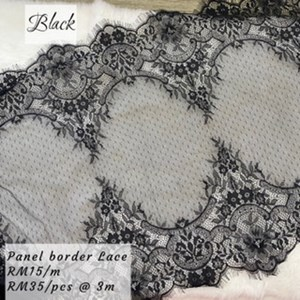 panel border lace