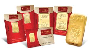 1gm Gold Wafer Card