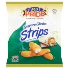 First Pride Tempura Chicken Strips 500g