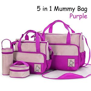 5 in 1 Mummy bag