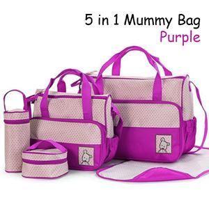 5 in 1 Mummy bag