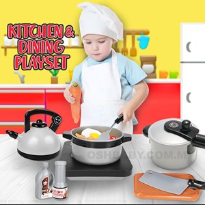 KITCHEN AND DINING PLAYSET