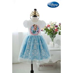 G 021/14 FROZEN BLUE DRESS