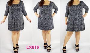 LX819* Bust108-128cm