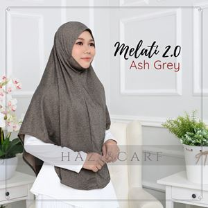 Melati in Ash Grey