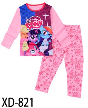 XD-821 PONEY KIDS PYJAMAS