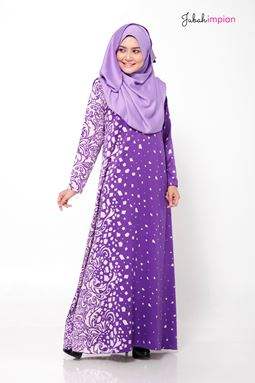 JUBAH MASITA (Purple )