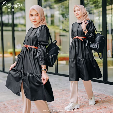 QEESYA TOP BLACK