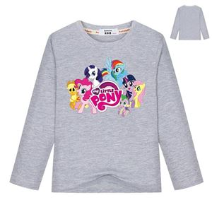 PONY LONG SLEEVE T SHIRT