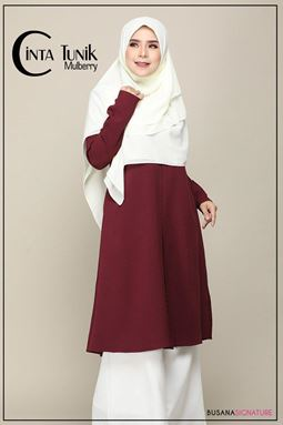 LONG BLOUSE CINTA ( MULBERRY )