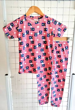 Pyjamas FULL MALAYSIA :  Kids 1/2 - 7/8