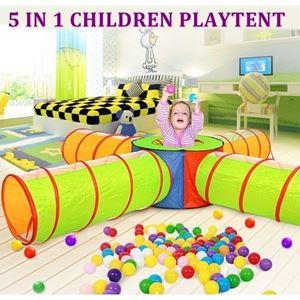 5 IN 1 CHILDREN PLAYTENT N00781