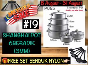 MERDEKA SALE #19 - SHANGHAI POT 6BERADIK (3MM)