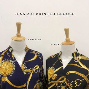 JESS 2.0 PRINTED BLOUSE