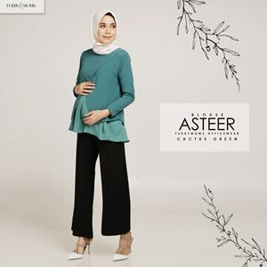 Asteer Blouse - Cactus Green