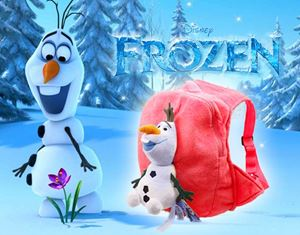 FROZEN OLAF 3D BAG RED