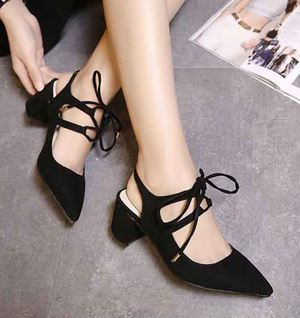 Shoe 2724 Black | Beige