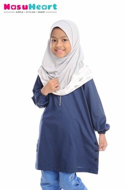 IZZAH BLUE BLACK