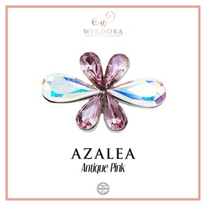Brooch Azalea Antique Pink