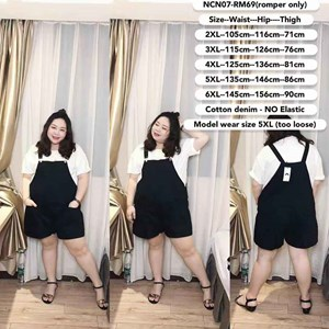 NCN07 Ready Stock  *Waist 42 to 57 inch/ 105-145cm