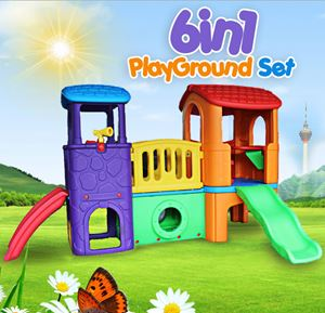 6in1 PLAYGROUNDSET