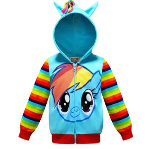 @  LITTLE PONY JACKET - BLUE  ( SIZE 100-150 )