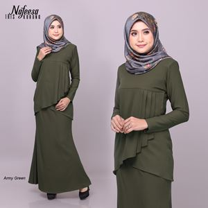IRIS KURUNG ARMY GREEN