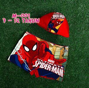 M-001 SPIDERMAN Kids Disney Swimsuit (11T & 12T)