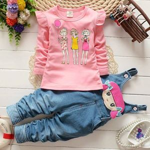 Baby Clothing Set - Girls Cartoon