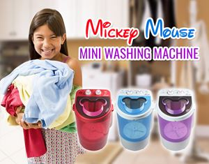 Mickey Mouse Mini Washing Machine