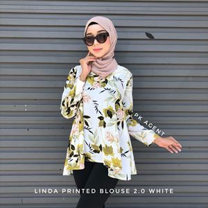 LINDA 2.0 PRINTED BLOUSE (FREESIZE)