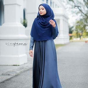 SCHAFERNA EXCLUSIVE MODERN IN JUBAH (MOSSY GREY)
