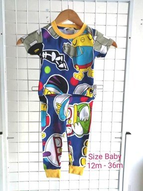 Pyjamas  DIDI AND FRIENDS with POLKA : BABY 12M- 36M