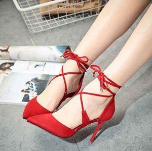 Shoe 2714 Black | Red