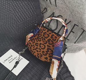 Leopard Scarf Bag