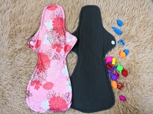 Cloth Pad - Floral ( Caring ) Size XL
