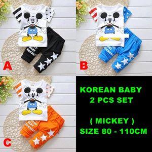WS-201574-K012 KOREAN BABY 2pcs SET (sz80-110)
