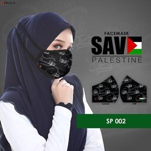 FACEMASK SAVE PALESTINE - SP 002